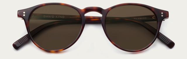 Tiny 2x richmond in red havana sun brown lens